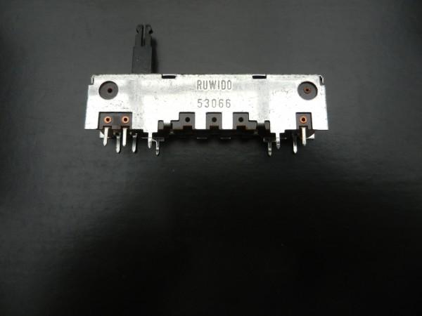 Schieberegler 210K mit Mittelanzapfung für Hifi Geräte von Grundig