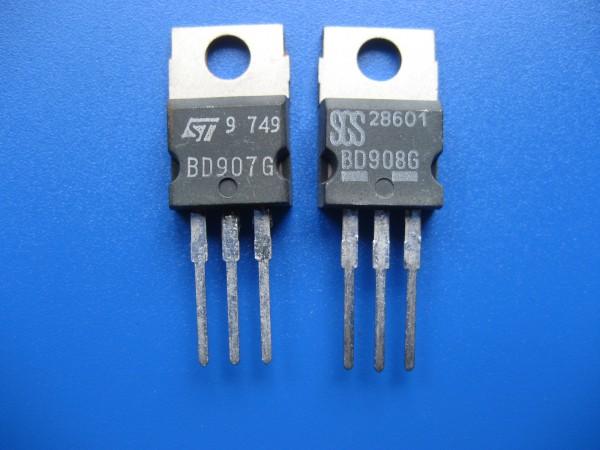 BD 907 / 908 G Endstufen Transistoren