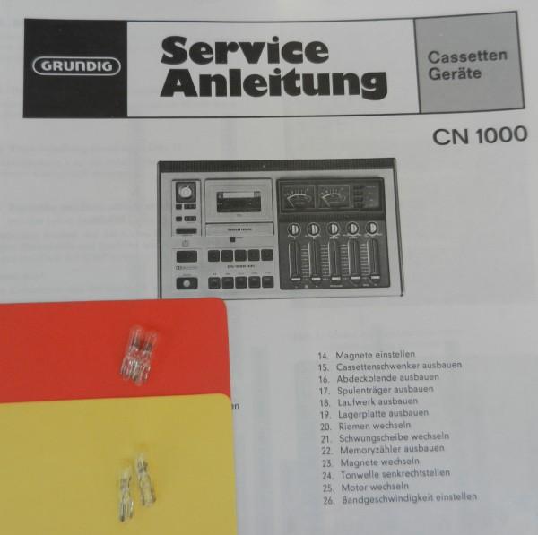 Lämpchen für Tape CN1000 CN 1000 GRUNDIG SET