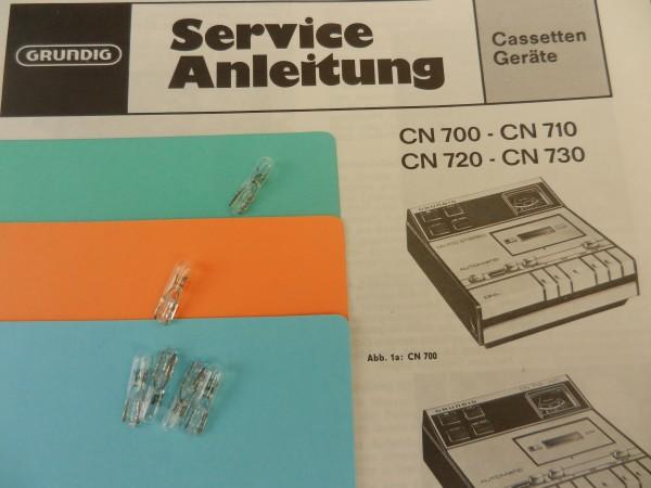 Lämpchen für Tape CN710 CN700 GRUNDIG SET