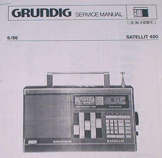 Service Manual - Satellit 400 Weltempfänger