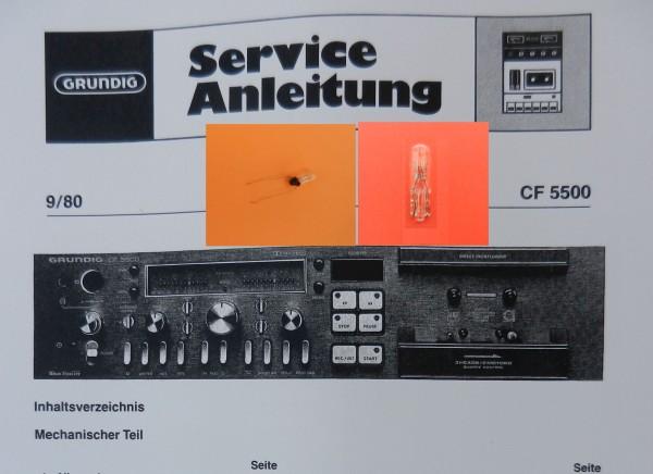 Lämpchen für Tape CF5500 CF5500-2 GRUNDIG SET