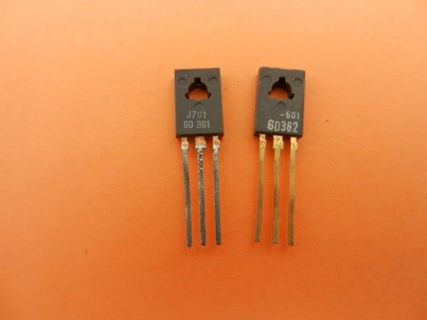 GD 361 / GD 362 GRUNDIG Endstufen Transistoren