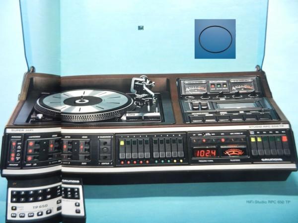 RPC650 TP Studio Hifi Antriebsriemen GRUNDIG