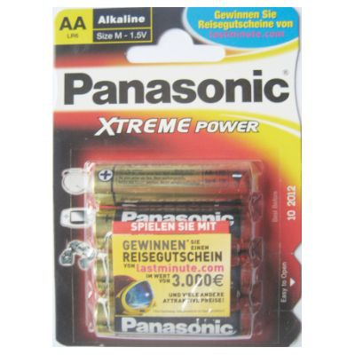 Mignon Batterien AA LR6 XTREME 4 Stück