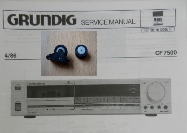 Tonrolle für CF 7500 GRUNDIG