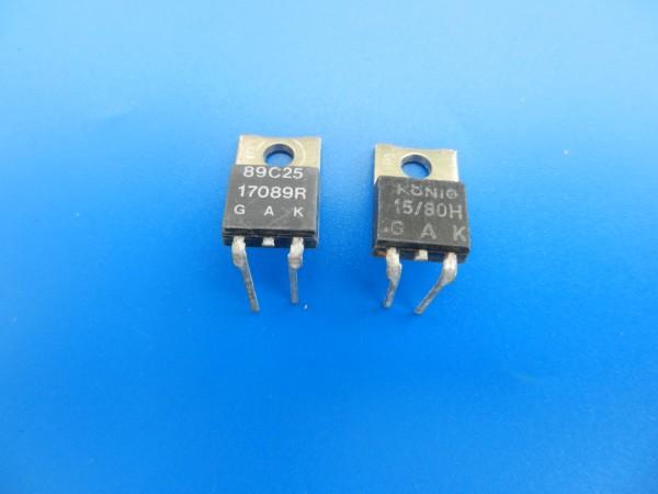 17088H / 17089R Ablenkthyristoren für GRUNDIG TV Geräte