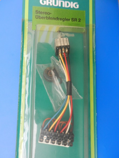SR 2 Stereo Überblendregler von GRUNDIG -NEU-