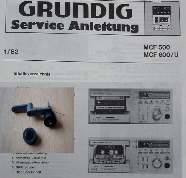 Tonrolle für MCF 500 MCF 600 GRUNDIG