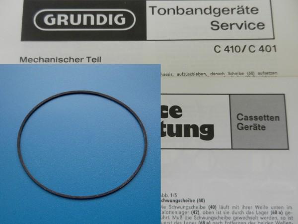 C401 C410 Antriebsriemen Cassettenrecorder GRUNDIG