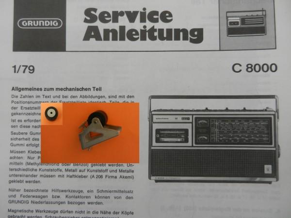 Tonrolle für C8000 C 8000 Automatik von GRUNDIG