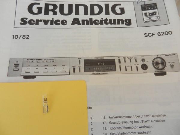Lämpchen für Tape SCF 6200 GRUNDIG