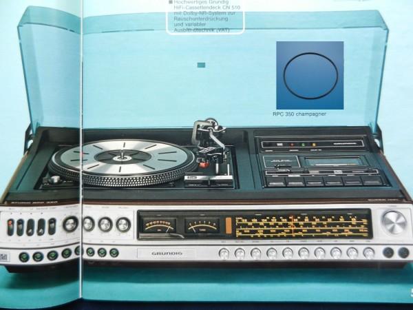 RPC350 Studio Hifi Antriebsriemen GRUNDIG