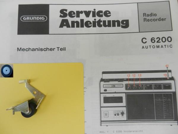Tonrolle für C6200 GRUNDIG für den Radiorecorder C 6200