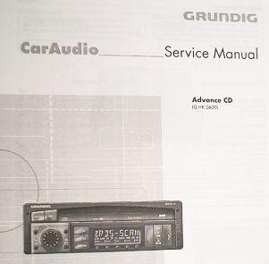 Service Manual - Advance CD Autoradio