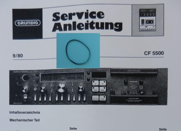 CF5500 / 5500-2 Grundig Capstan Riemen