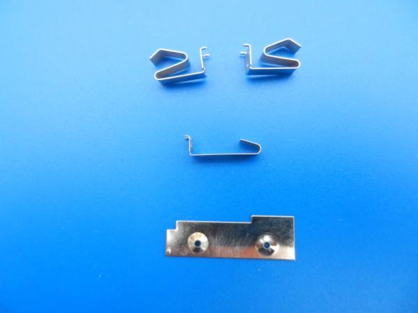 Batteriekontakte SET für SH 20 / SH 30 Hand Diktiergerät GRUNDIG