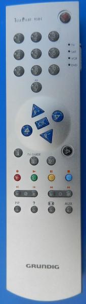 TP 950 C alu Designoberfläche GRUNDIG Fernbedienung