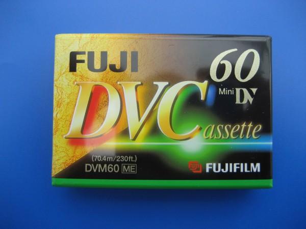 DVC Mini DV DVM 60 ME Fuji Cassette für Digitale Camcorder